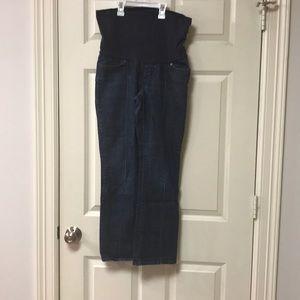 Gap Maternity Ankle Straight Leg Jeans Size 2